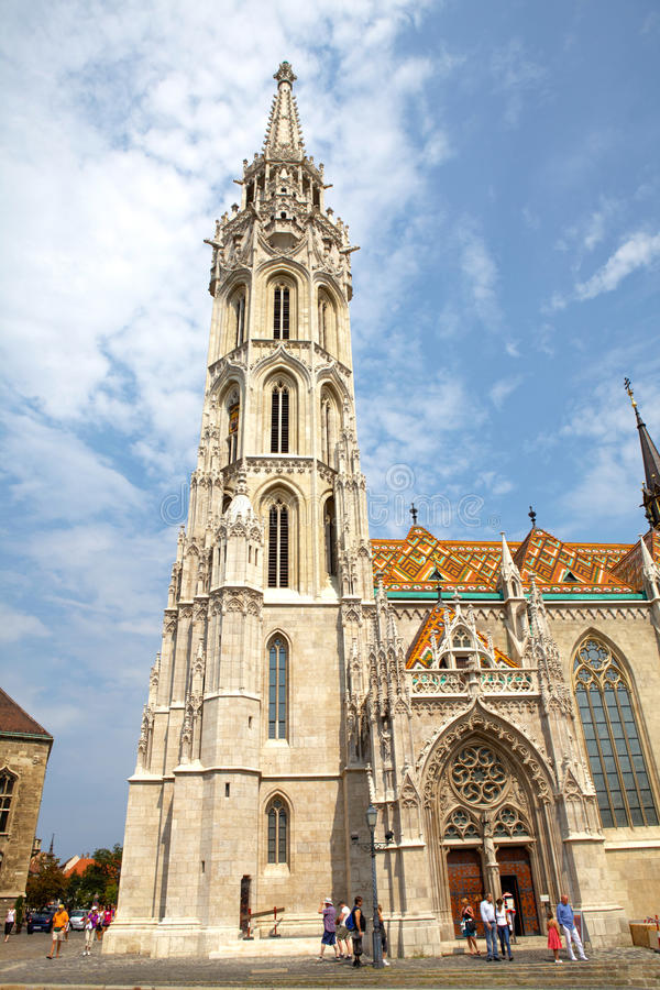 Download Historic Matthias' Church In Budapest Editorial Stock Image - Image: 26300179