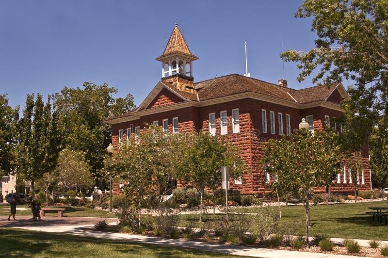 Historic Mormon Tabernacle stock image