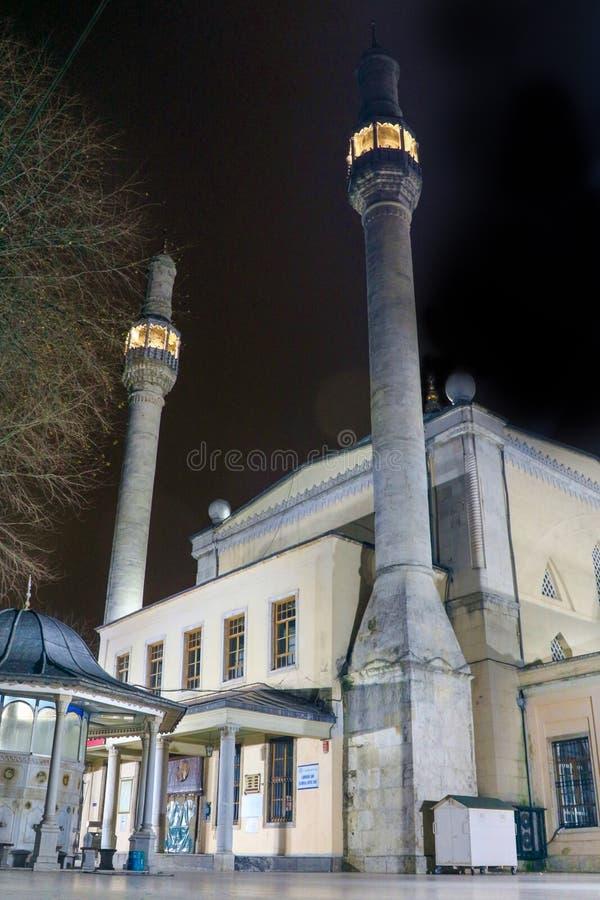 Historic Mosque Kasimpasa Beyoglu Istanbul. Turkey stock photography