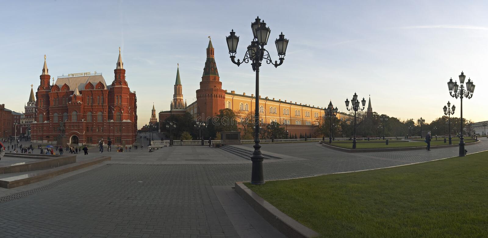 Historic museum, Kremlin in Moscow, Russia stock photography