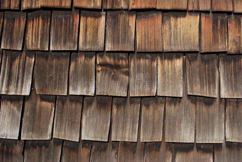 Historic Oklahoma Home Exterior Shingle Wall Royalty Free Stock Photo