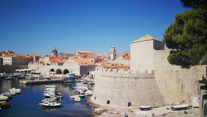 Oldtown Dubrovnik. Historic Oldtown Dubrovnik stock photos