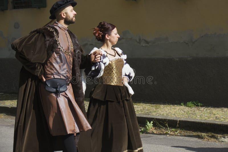 Historic Parade In Parma Editorial Stock Image