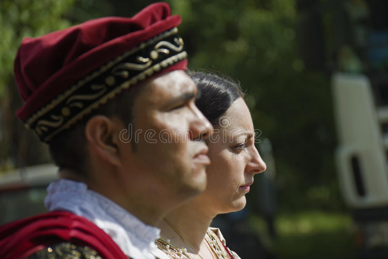 Historic Parade In Parma Editorial Photography