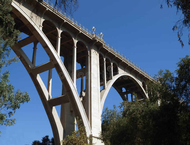 Download Historic Pasadena Bridge stock photo. Image of seco, highway - 11394286