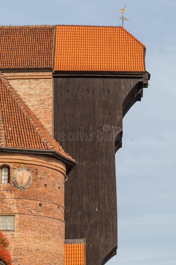 Download The Historic Port Crane - The Zuraw Royalty Free Stock Photos - Image: 34605478