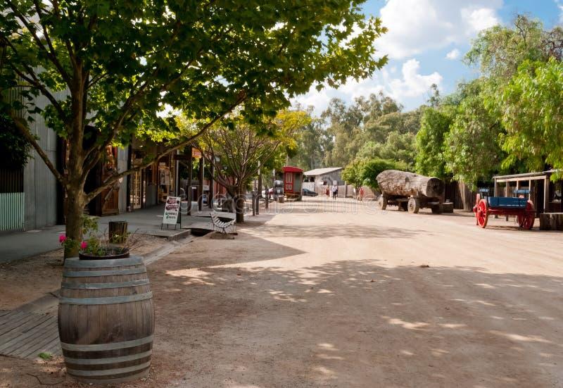 Historic Port, Echuca Royalty Free Stock Photography