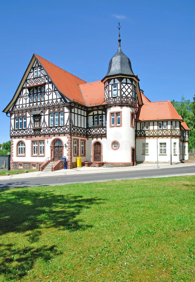 Free Historic Post Office,Thuringian Forest Stock Image - 22447231