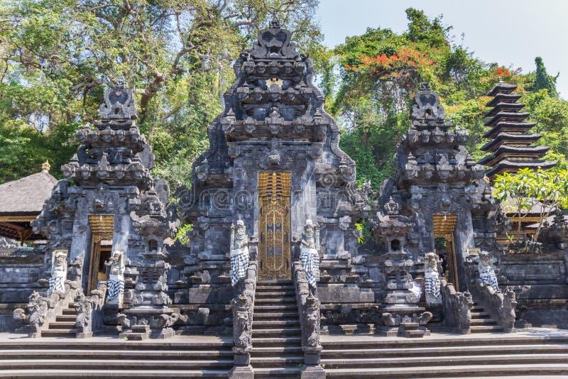 Historic Pura Goa Lawah temple on Bali stock image