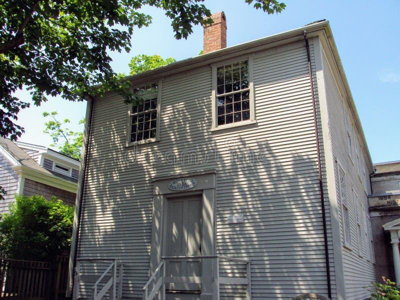 Historic Quaker Meeting House, Fair Street, Nantucket, Massachusetts royalty free stock images