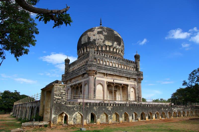 Historic Quli Qutb Shahi tomb royalty free stock images