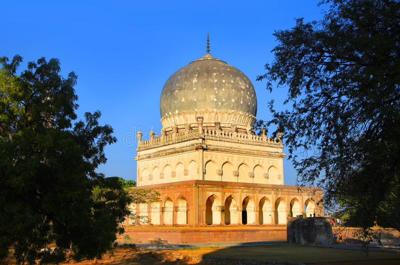 Historic Quli Qutbshahi tombs stock photo