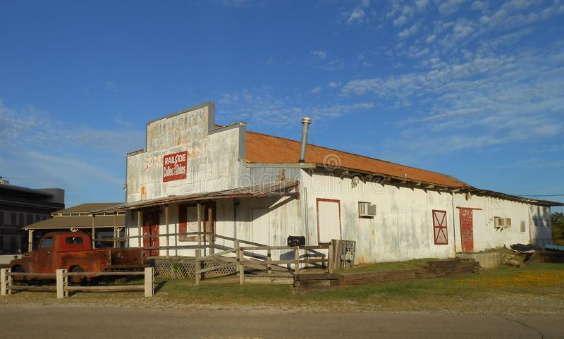 Historic railroad station royalty free stock photo