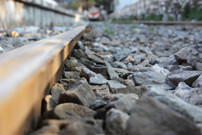 Historic railway, moldy rail locomotives stock photos
