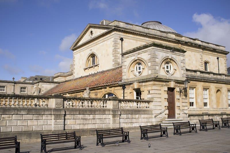Historic Roman Baths Royalty Free Stock Photography