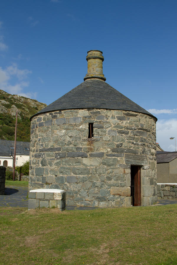 Download Historic roundhouse. stock photo. Image of barmouth, vacation - 26405496