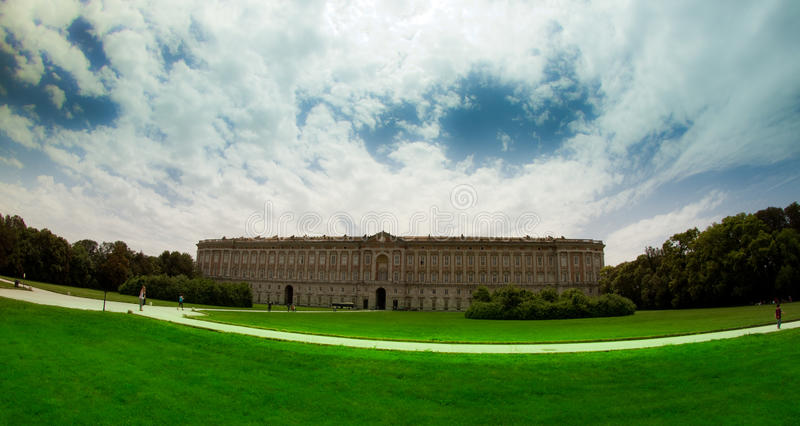 Historic Royal Palace of Caserta and garden. The Royal Palace of Caserta, or Royal Palace of Caserta, is a historic mansion that belonged to the royal house of stock photos