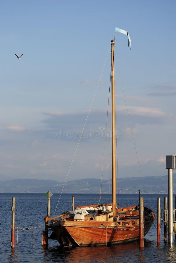 Historic sailing boat royalty free stock images