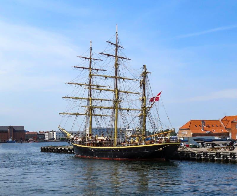 Historic sailship royalty free stock photography