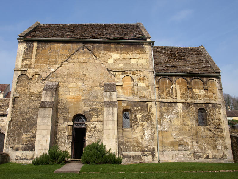 Historic Saxon Church Stock Images