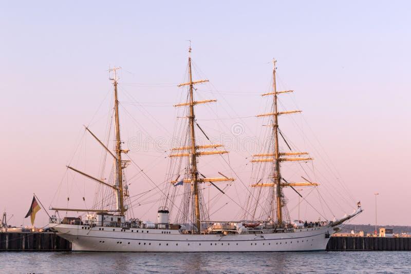 Historic ship Gorch Fock stock photos