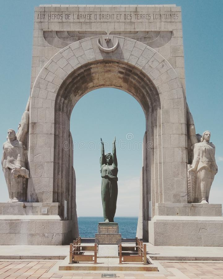 Historic Site, Monument, Statue, Landmark royalty free stock photography