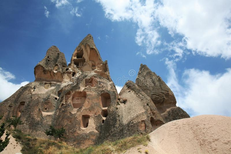 Historic Site, Sky, Rock, Badlands royalty free stock photography