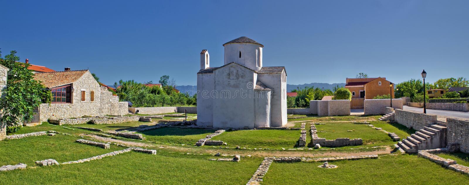 Download Historic Site - Town Of Nin Cathedral Stock Image - Image: 26638521