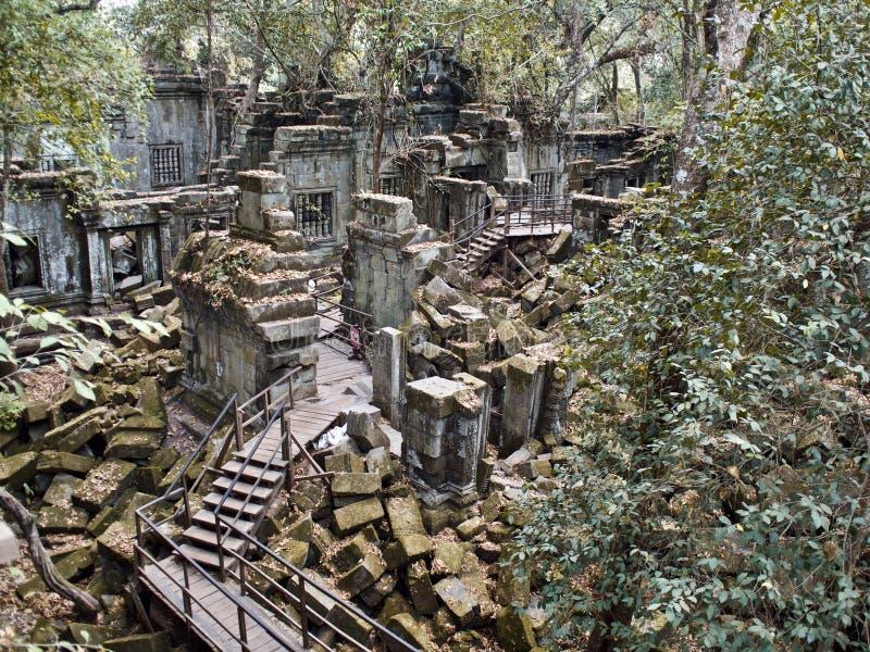 Historic Sites, Siem Reap, Cambodia. Historic Sites, Angkor Wat, Siem Reap, Cambodia royalty free stock photo