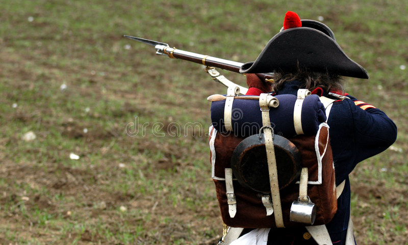 Download Historic soldier editorial stock image. Image of reconstruction - 1605769