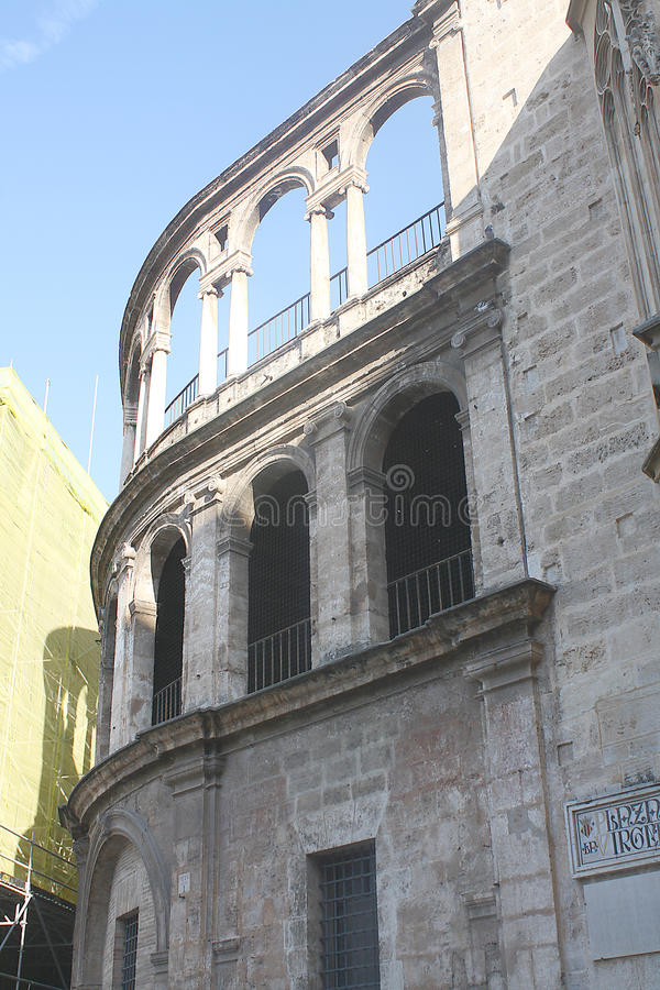 Historic Spanish Arches royalty free stock images