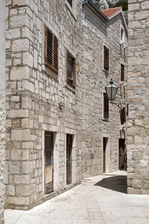 Historic Stone Homes In Europe Stock Photos