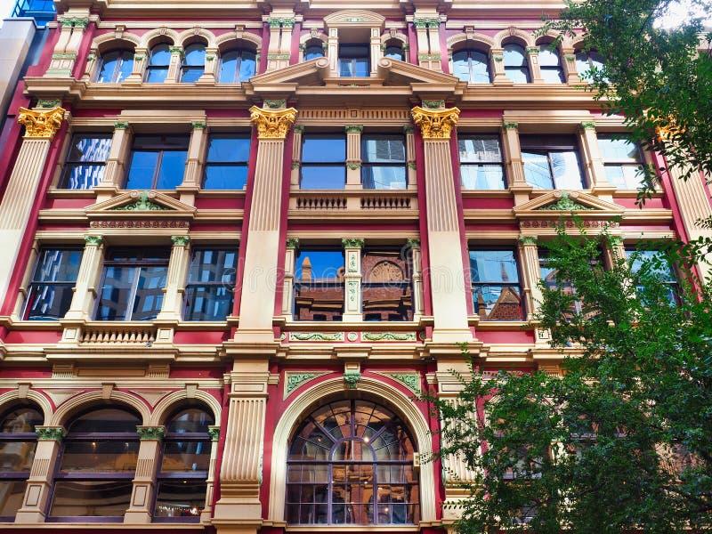 Historic Strand Arcade Building, Sydney CBD, Australia stock images