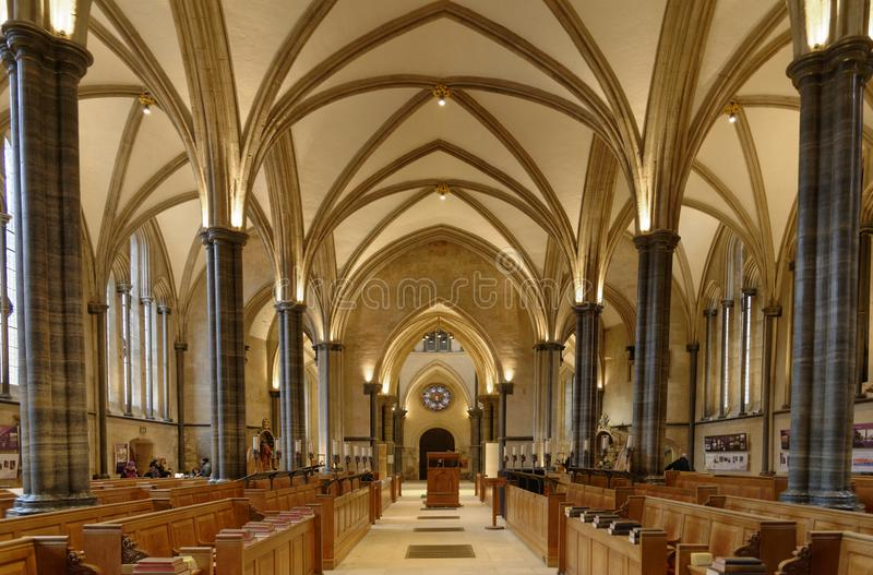 Temple, london, england: Temple Church, London royalty free stock images