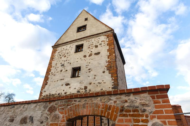 Historic town burg near magdeburg germany. The historic town burg near magdeburg germany stock photography