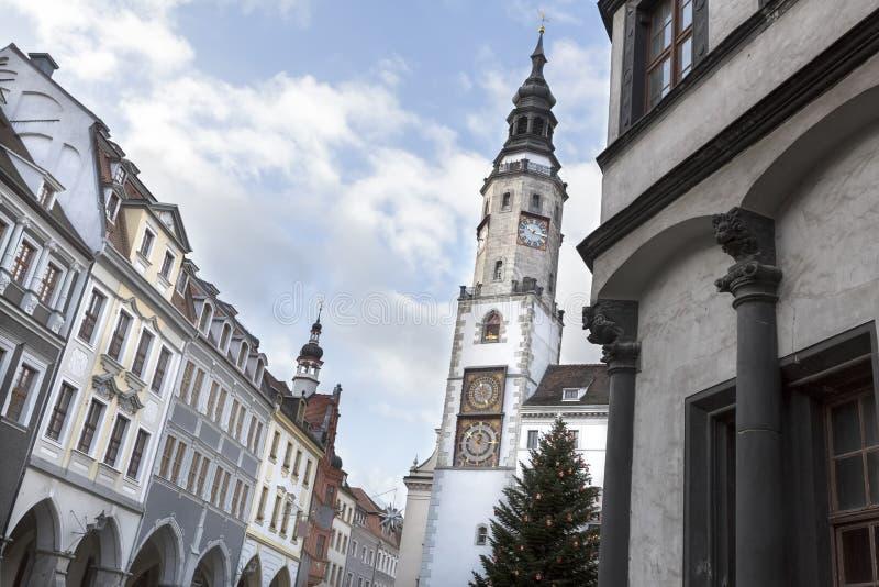 Historic town of Goerlitz, Germany stock image