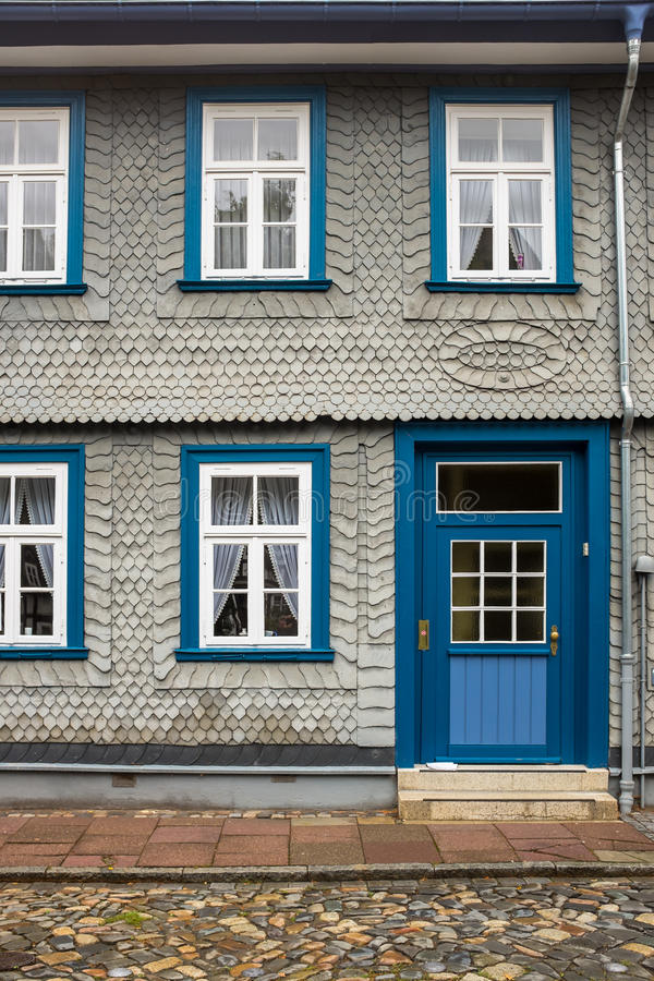 Historic Town House Goslar Germany. stock image