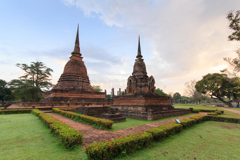 Historic Town of Sukhothai. And Associated Historic Towns stock image