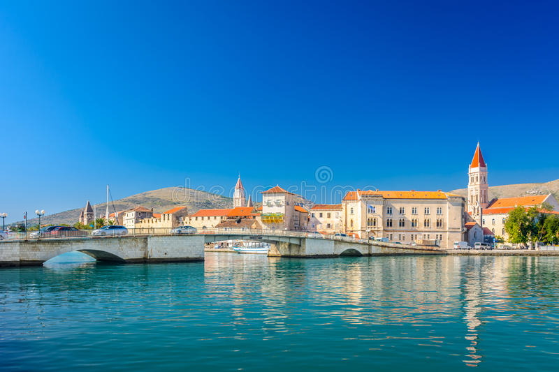 Historic town Trogir in Croatia. royalty free stock photography