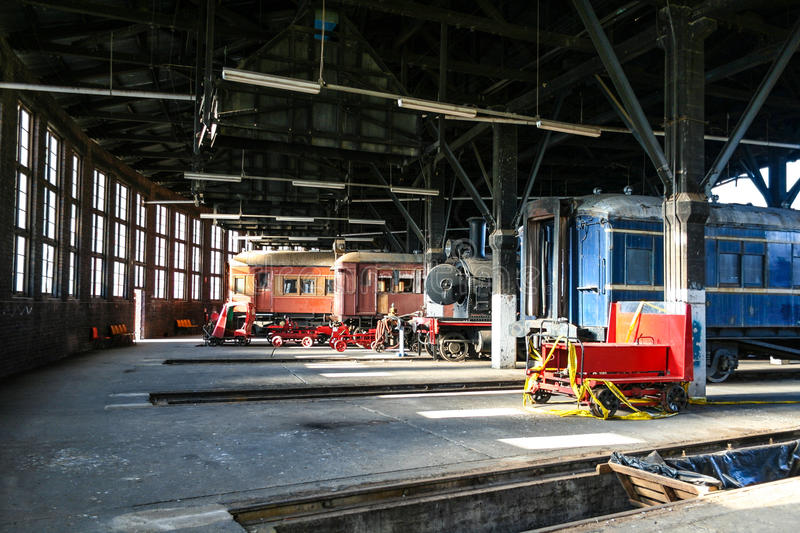 Railroad Roundhouse Stock Photos - Download 276 Royalty Free
