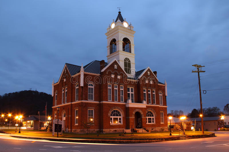 Historic Union County Courthouse royalty free stock photo