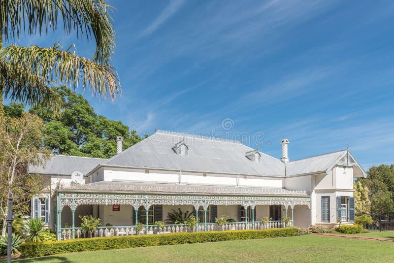 Historic victorian house in Robertson stock photo