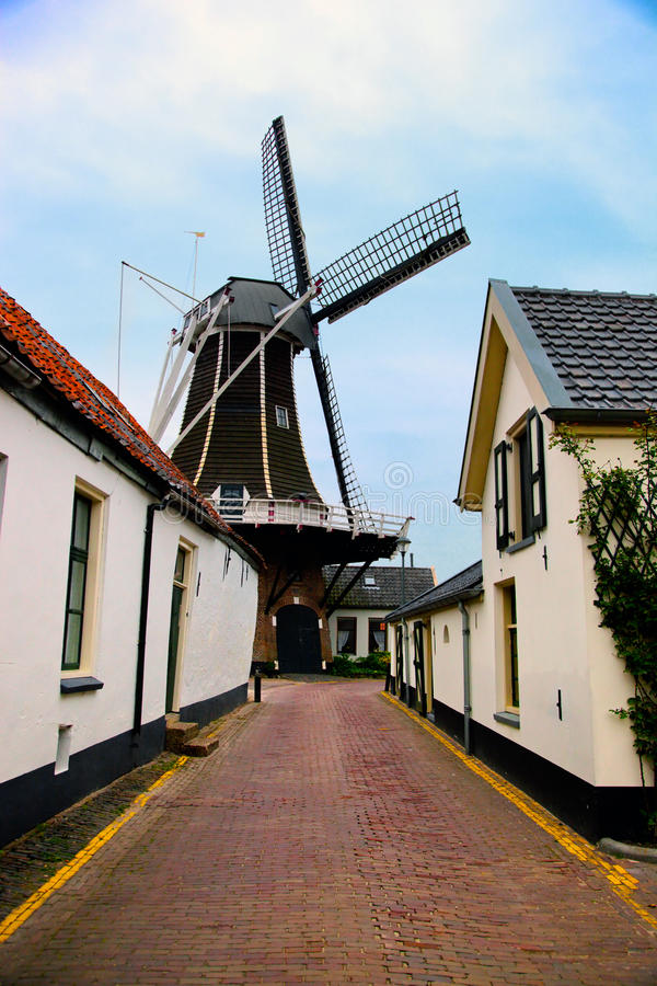 Download Historic Village In Netherlands Stock Photo - Image: 24864638