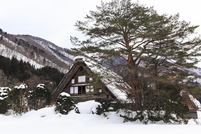 Historic Villages of Shirakawa-go stock images