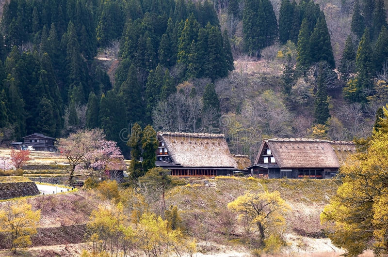The Historic Villages of Shirakawago stock photos