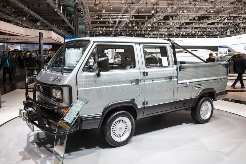 Historic VW T3 TriStar syncro stock image