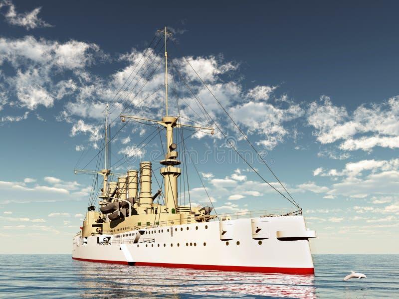 Download Historic Warship stock illustration. Image of transport - 20905286