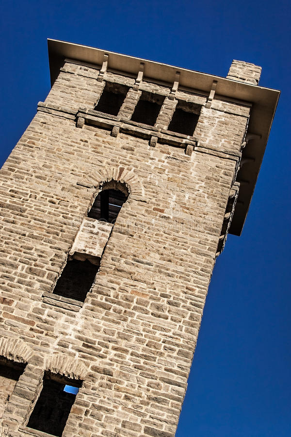 Historic Water tower Ha Ha Tonka State National Park royalty free stock image