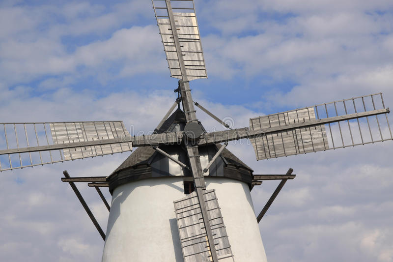 Historic Windmill stock image