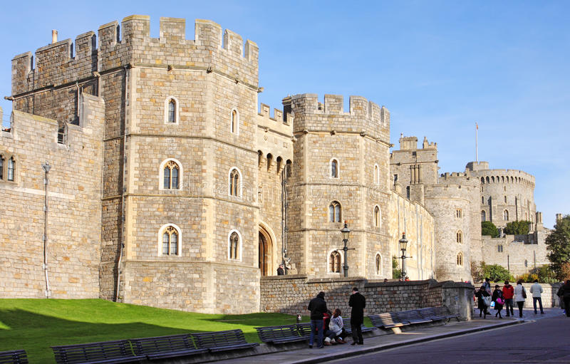 Download Historic Windsor Castle In England Editorial Image - Image of heritage, towers: 22432475